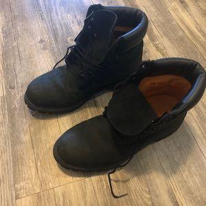 Timberland 6 inch Boots Black Sz. 10